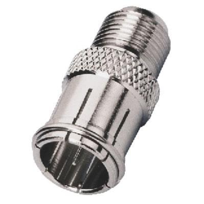 Adapter F-Screw Female/F-Slide on Male