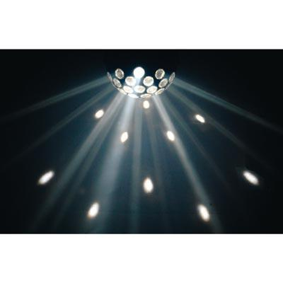 Rotating Fireball Party Light Qtx Led Floor Or Ceiling
