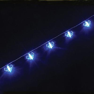 String Lights Music : Bat LED Battery Operated String Lights 1.75M