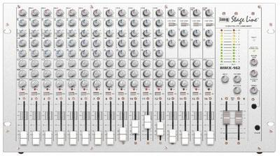 MMX-162 16-channel mic/line mixer