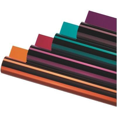 LEE-105/OR Coloured Foil rolls, length of roll:762cm
