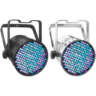 IMG Stageline LED Spotlights with Menu Control Black and Aluminium Version