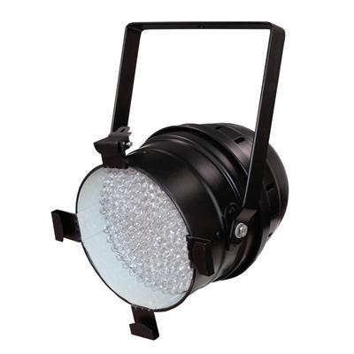 LEDJ DMX White LED PAR-64 Can - Black