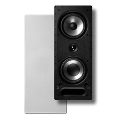 Polk Audio 265-RT Vanishing Series 3-Way In-Wall Speaker - Single