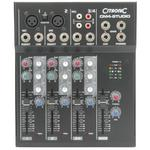 Citronic CM4 3-Channel Compact Mixer with USB Output