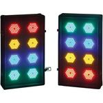 Soundlab Professional 2 x 8 Way LED Light Box