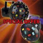 Cybermarket Megadeal 2 Fantastic Disco Lights  Watch Video!rrp £199 Our Price