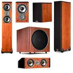 Polk Audio 5.1 Home Cinema TSi Series Speakers Megadeal - Cherry