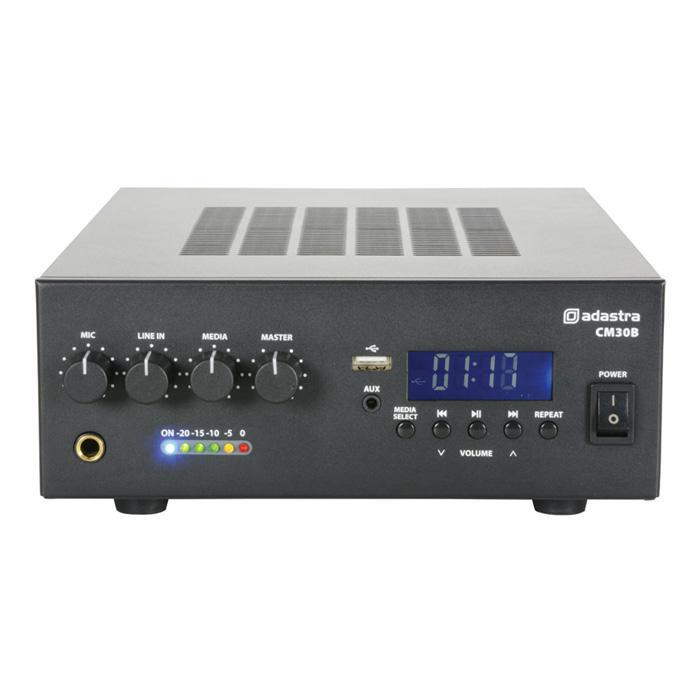 Compact Pa Mixer With Bluetooth Mp3 Player And Fm Tuner