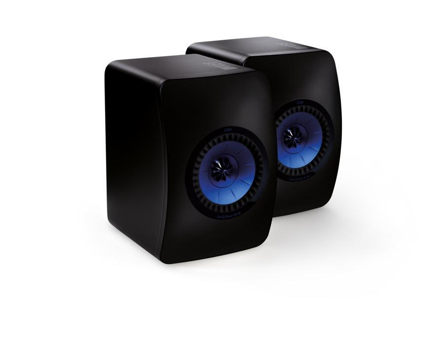 Kef Ls50 Speakers Special Edition Frosted Black