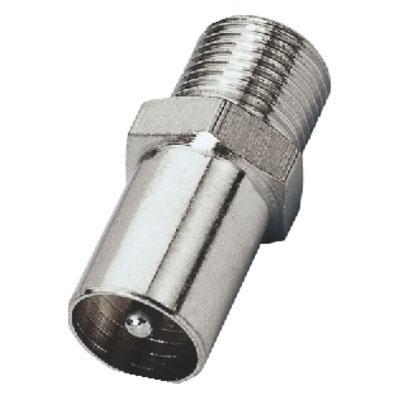 Adapter F-Female/Coaxial Antenna Plug