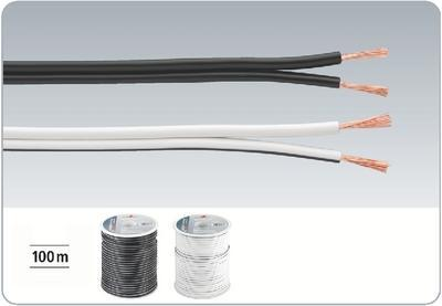 Incredible Spc 75 Speaker Cable 100M Reel White And Black Wiring 101 Ouplipimpapsstreekradiomeanderfmnl