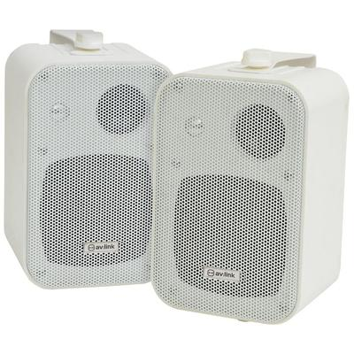 Stereo 3-Way Wall Mount Speakers - 8 Ohm 60W MAX