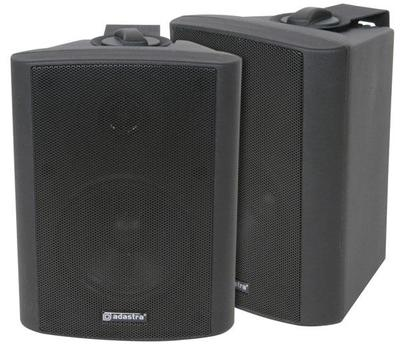 35W RMS Background 4' Stereo Speakers - Black