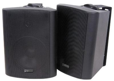 2-Way Stereo Speakers 100W Max - Black