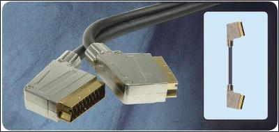 Gold Plated SCART Plug To SCART Plug 1.5m