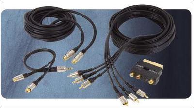 DVD Connection Set Gold Plated