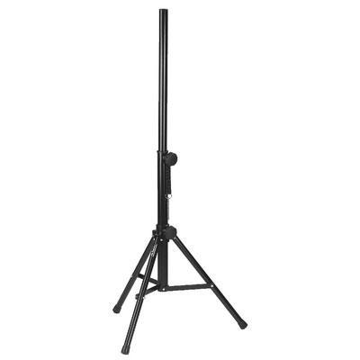 PAST-125/SW Speaker Stand, Stable Steel Black