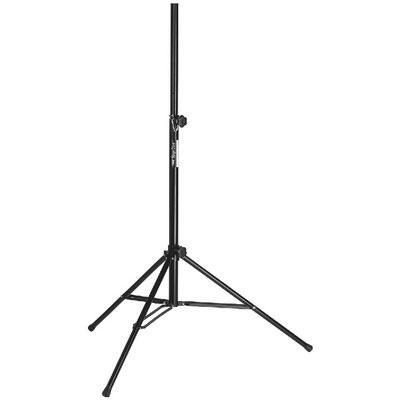 IMG Stageline PAST-120/SW Speaker Stand with locking Pin, Black  Black