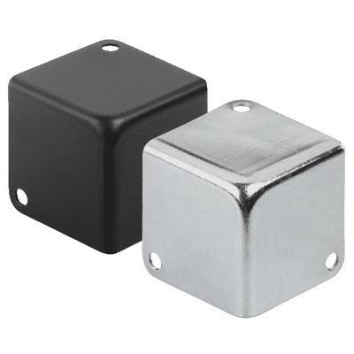 MZF-8502/SW Metal Case Corner Basic Black And Silver