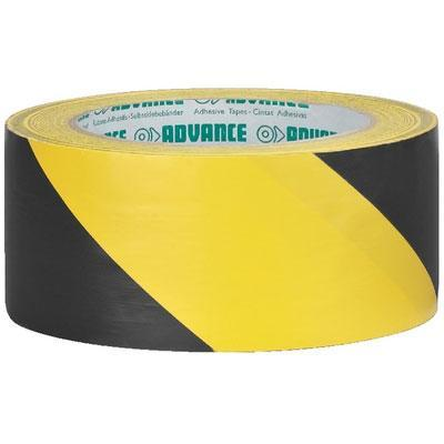 Advance AT-8/GESW PVC Marking Tape Yellow/Black