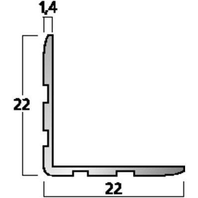 MZF-8051 Corner Profile 10 Rails Of 2m Each