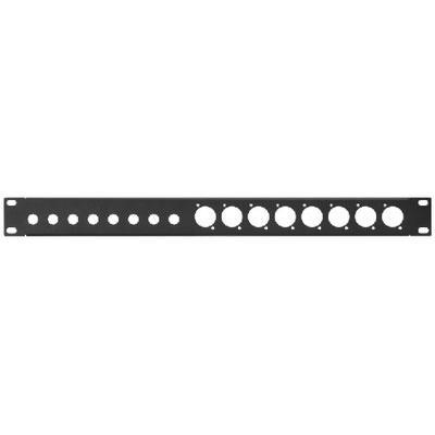 RCP-8715U Rack Panel Punched Holes 8 x 6.3mm Jack 1RS