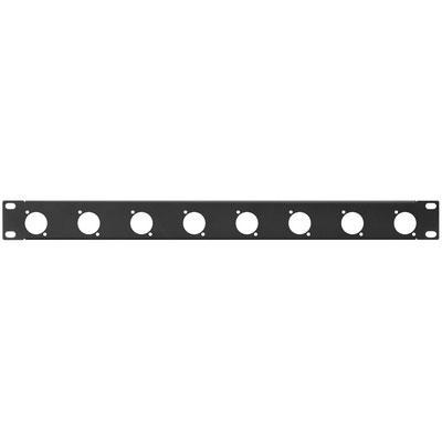 RCP-8732U Rack Panel 8 x D Series Punched Hole 1 RS