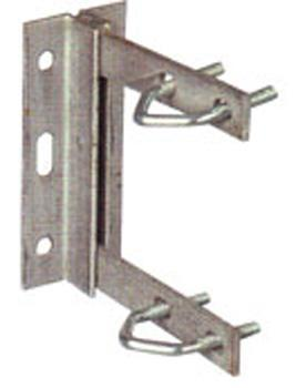 6' Wall Bracket + V Bolts