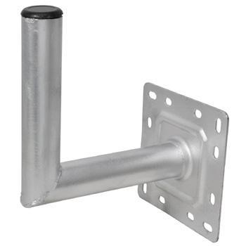 Satellite Wall Mount, 2 inch x 25cm Galvanised
