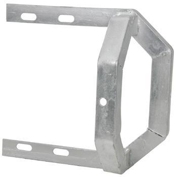 Heavy Duty Galvanised Mitre Cradle Brackets