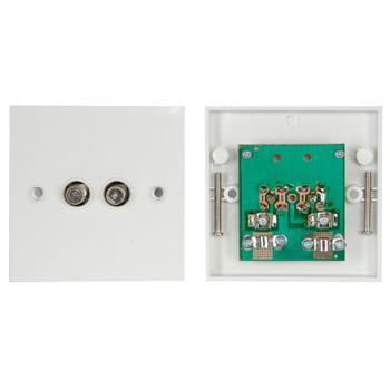 Double F Connector Flush Outlet MA50 Double F