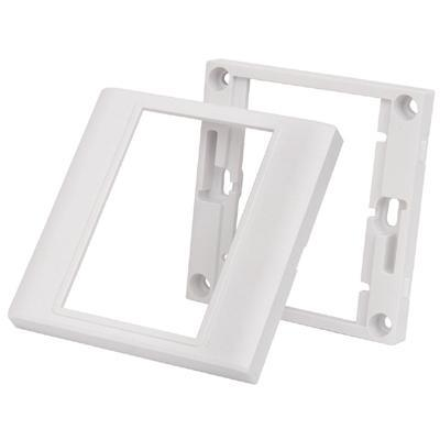 AV:Link Single Modular Wallplate frame - White