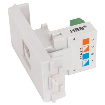 Telephone RJ11 Module for Wallplate