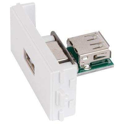 USB Socket Module for Wallplate