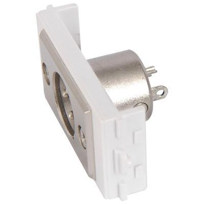 XLR Socket (Male) Module for Wallplate