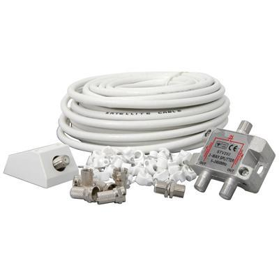 Satellite Coaxial Splitter Kit