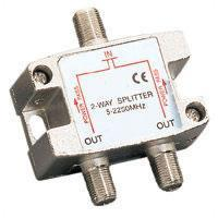 2-way 2.25GHz Satellite Splitter