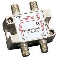 3-way 2.25GHz Satellite Splitter