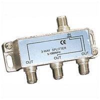 3-Way 1GHz Satellite Splitter