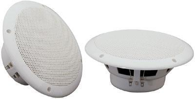 Pair Of 100w 8ohms 6.5'' Water Resistant Ceiling Speakers