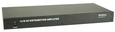 16-Way A/V Distribution Amplifier