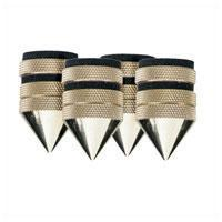 Set Of 4 Brass Speaker Spikes