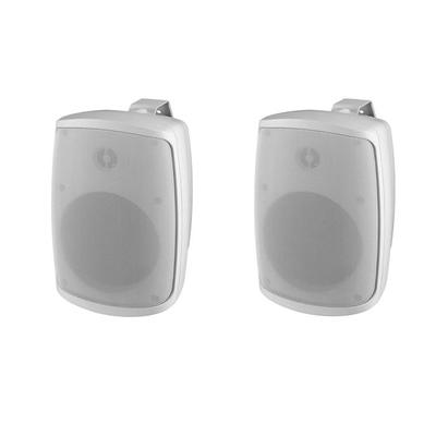Monacor WALL-04T 2-Way Outdoor Speaker - Pair - 100V