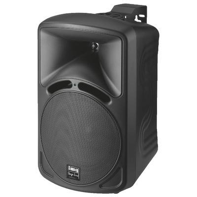 IMG Stageline PAB-68/SW Wall Mount PA Speaker 70W 8 Ohm - Black - Pair