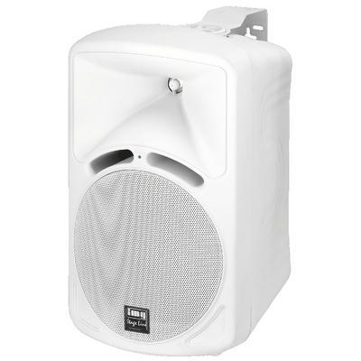 IMG Stageline PAB-68/WS Wall Mount Speaker 70W 8 Ohm - White - Pair