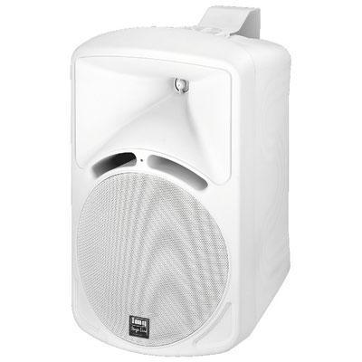 "IMG Stageline PAB-88/WS 8"" Speaker 75W RMS 8 Ohm - White - Pair"