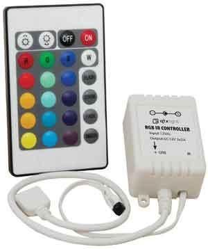 RGB Tape Controller with IR Remote