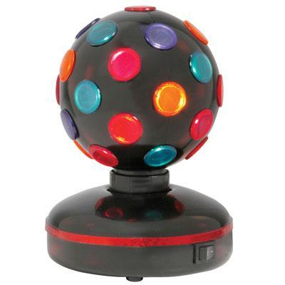 Rotating Disco Ball, 4- Colours, Free Standing