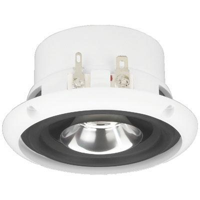 Weatherproof Ceiling Speaker With Dual Cone, 40W Max, 4ohm